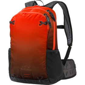 Jack Wolfskin Halo 22 Backpack red/black